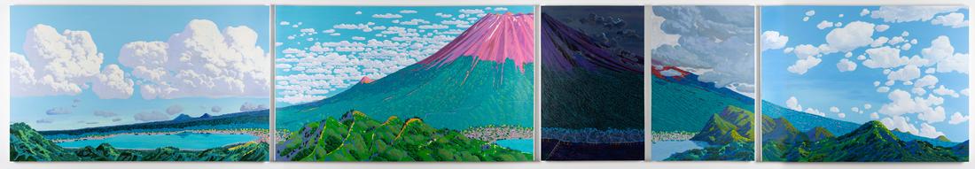 《富士山》