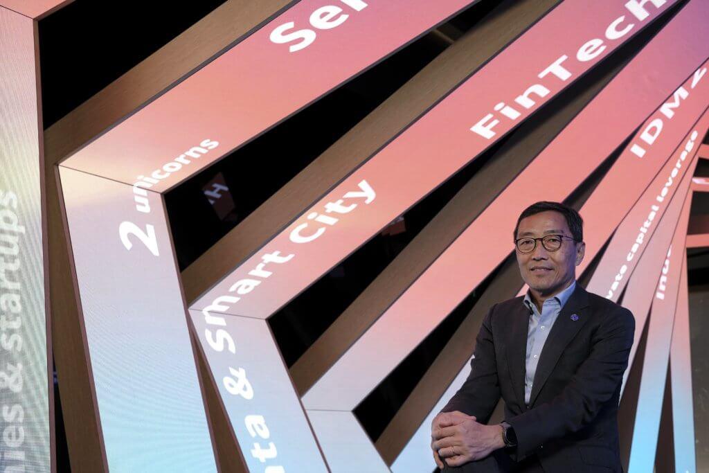香港科技園公司行政總裁黃克強
