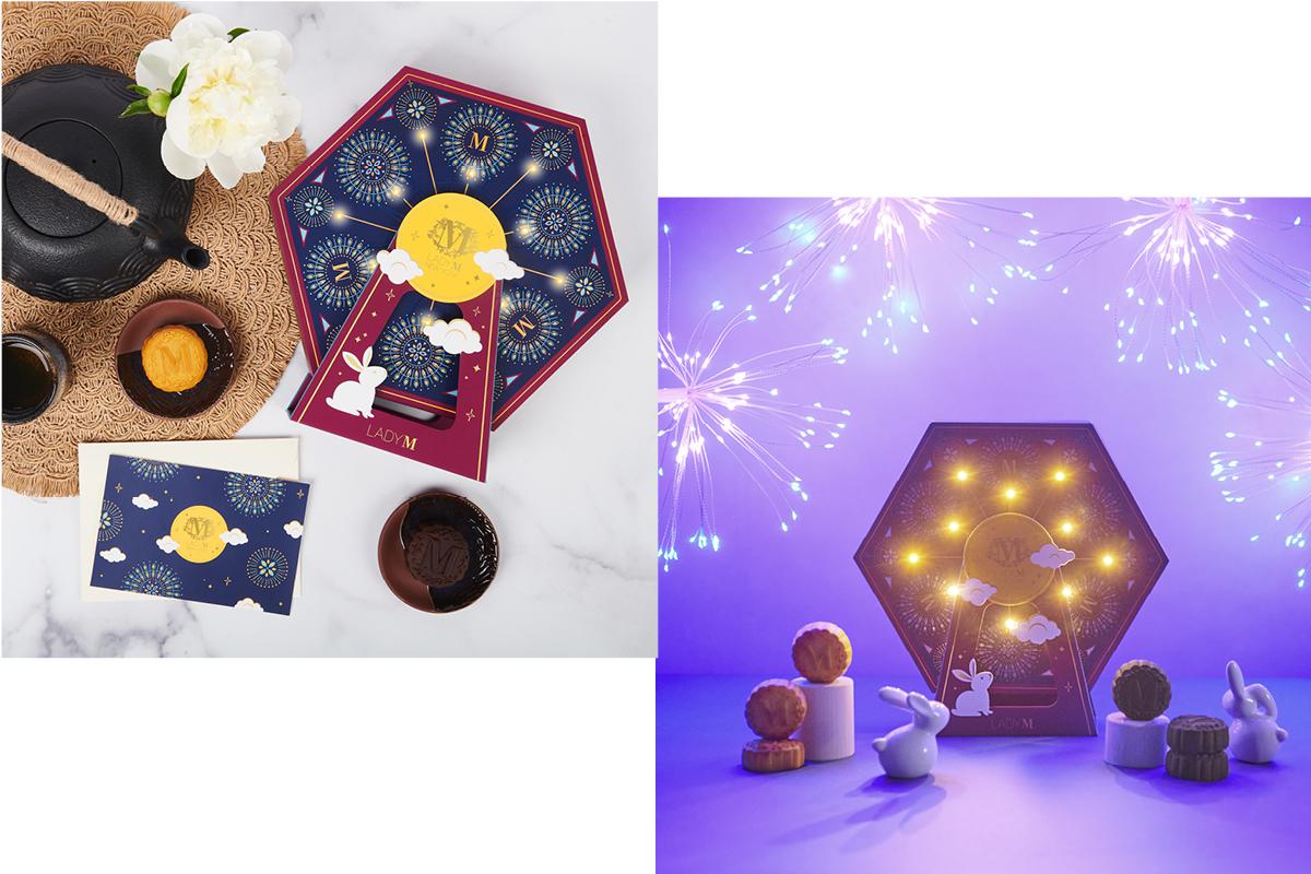 每個禮盒藏有迷你奶黃和迷你朱古力2款口味,合共6件。($528)