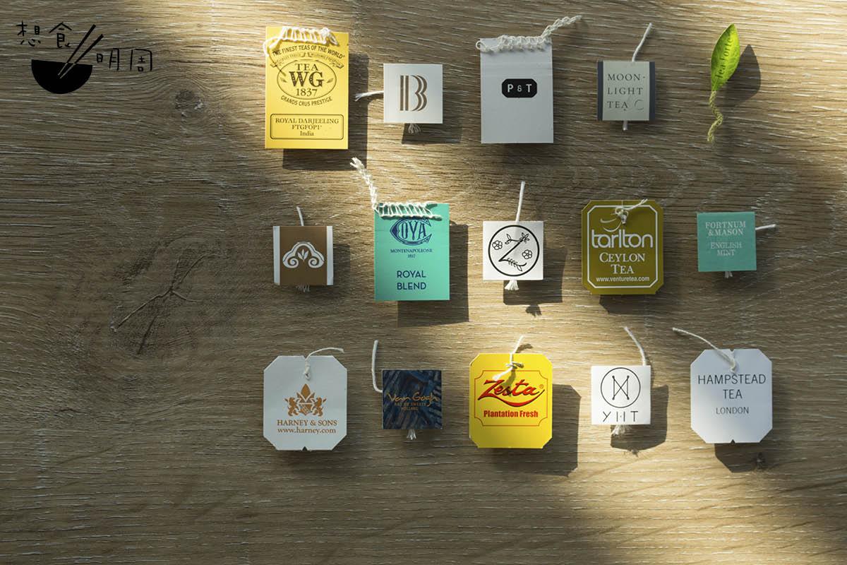 茶包設計大同小異,飲用的人未必一眼能辨,故此茶品牌都樂意在茶牌設計下功夫。
