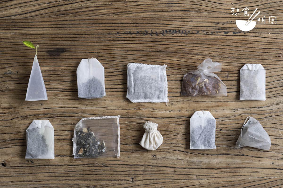 茶包的空間、物料,尚在不停演化,為茶帶來飲用以外的功能。