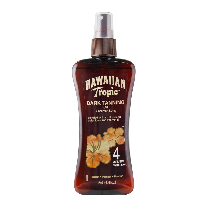 Hawaiian Tropic古銅助曬油SPF4 $129.90/240ml