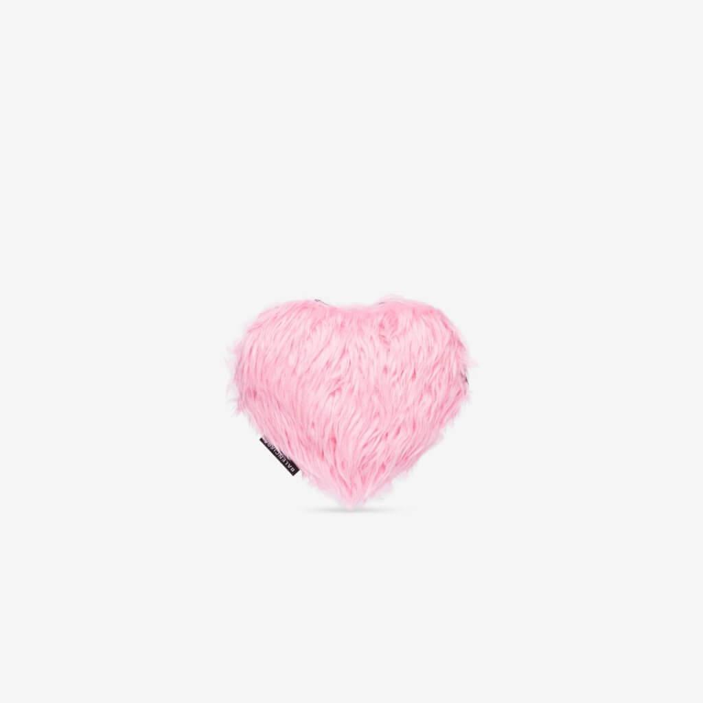 Women's Fluffy Heart Clutch $7,100