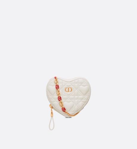 DiorAmour Dior Caro 鏈帶心形小袋 $11,600