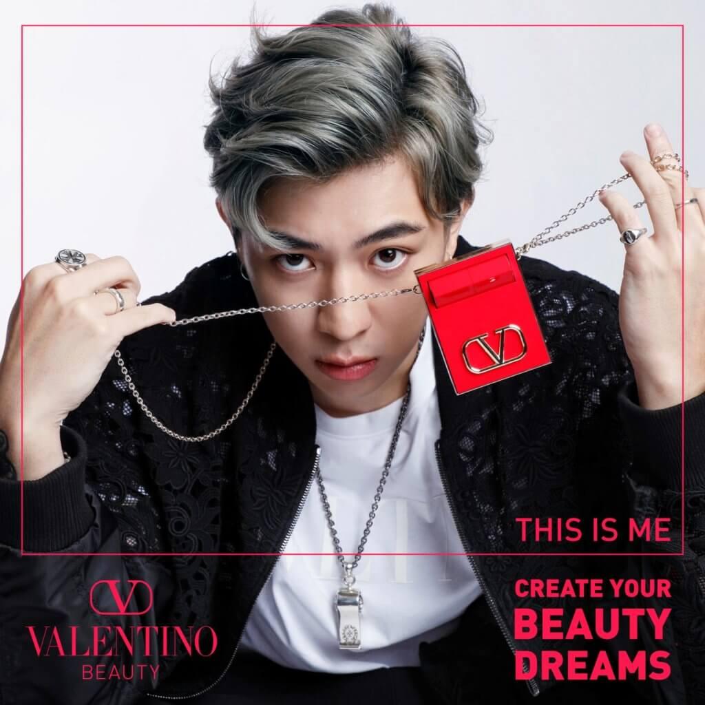 VALENTINO WITH TYSON Valentino Beauty登場,怎少得找來饒舌歌手來演繹他們的產品?