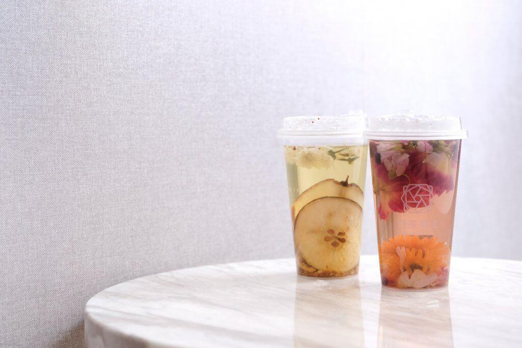 銷量最高的兩款花茶:桂花雪梨茶和皇牌氣血茶