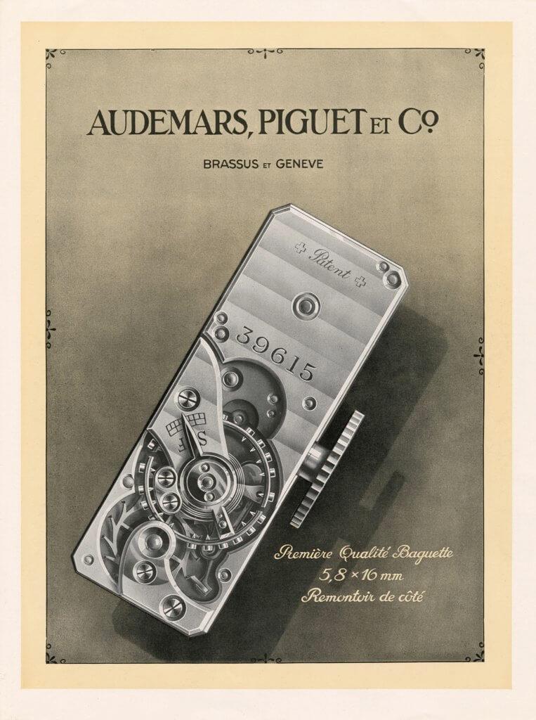 品牌開發出最小的自製Baguette細長形機芯5/6SB,尺寸僅為15.9 x 5.8 x 3.3毫米,絕對是麻雀雖小,五臟俱全。