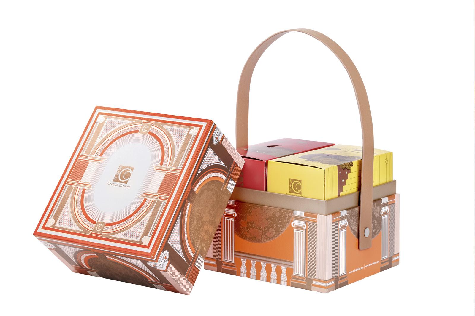 雙黃白蓮蓉月餅禮盒($438)