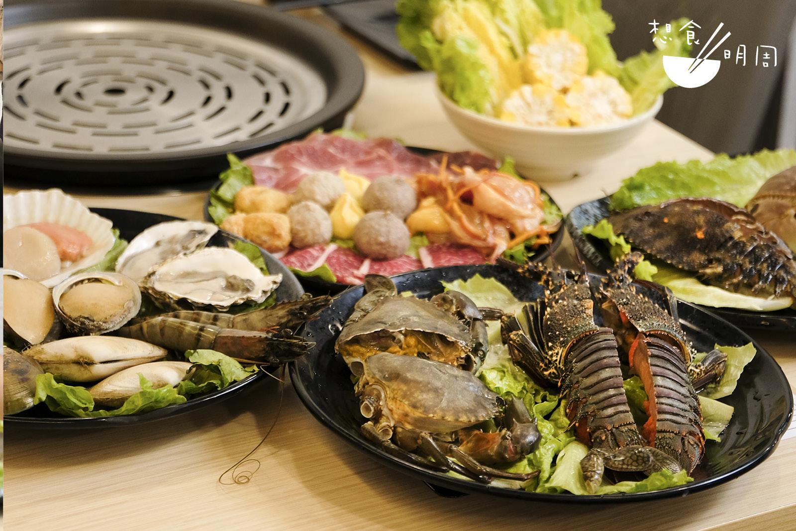 吃海鮮鍋絕對不能心急,而且吃海鮮的次序也講究的!