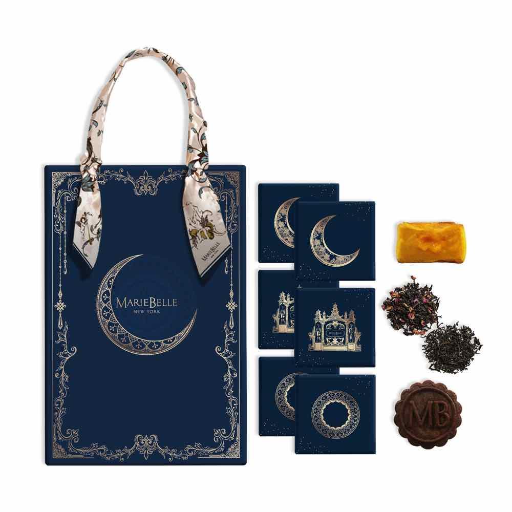 月夜・流心奶黃月餅手提禮盒($488)