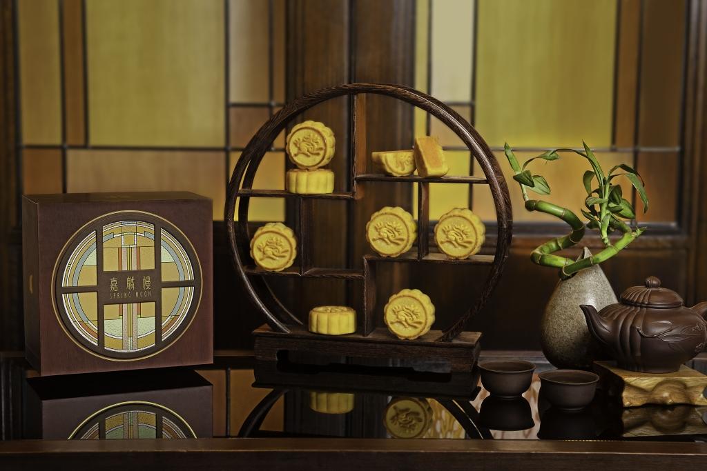 嘉麟樓8件裝迷你奶黃月餅 $580