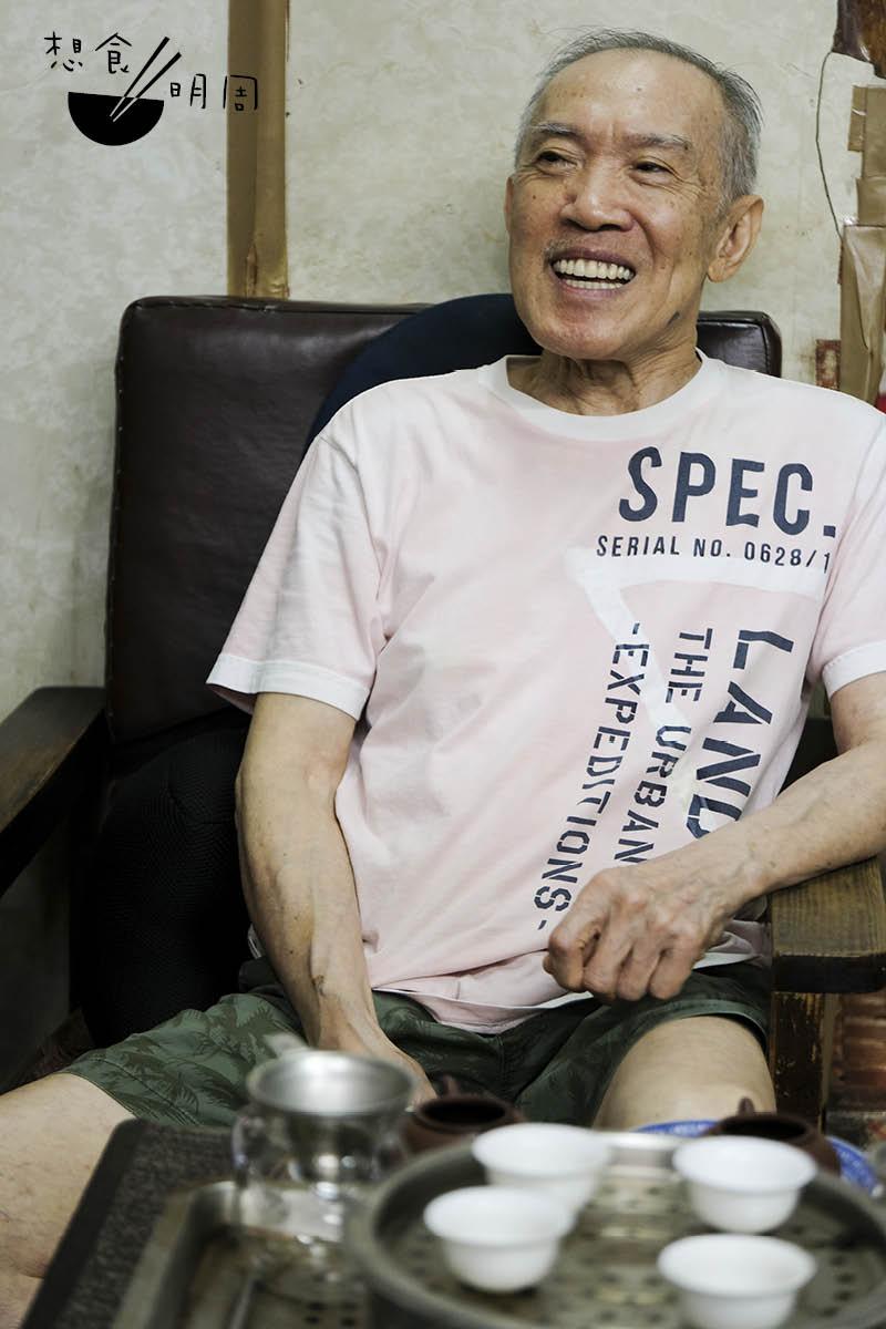 福建茶行第二代主理人楊庭輝。