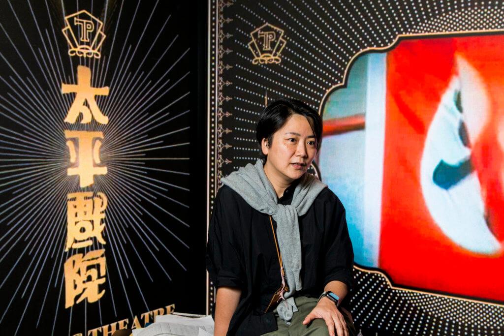 香港電影資料館一級助理館長(節目)陳彩玉