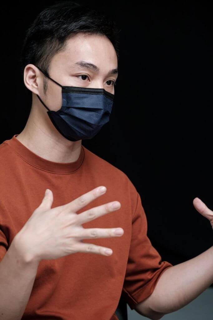 副藝術總監李偉能期望「#非關舞蹈祭」打破公眾慣常和傳統的觀舞經驗。