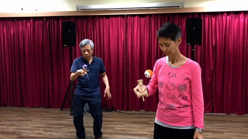 劍球是一種沒有年齡限制的運動。(相片由受訪者提供)