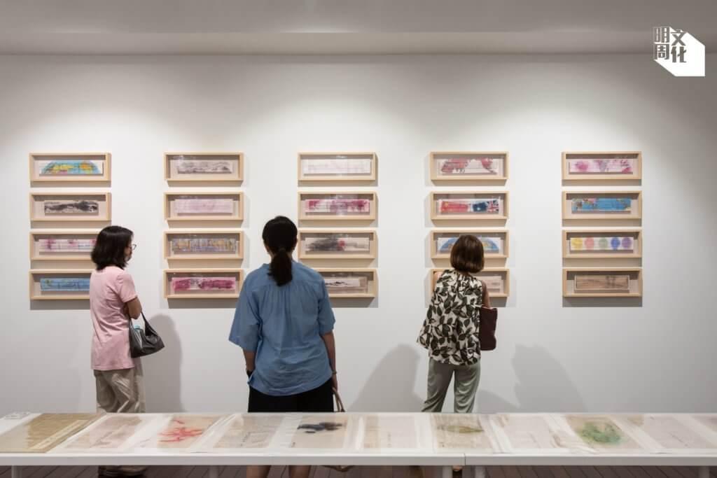 方由美術(Galerie Ora-Ora)專營當代水墨,在大館新址過去的展覽亦是當代水墨展。