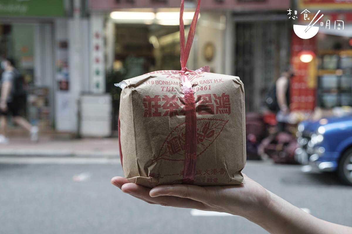雞皮紙尼龍繩的包裝,如今買少見少,要珍惜。