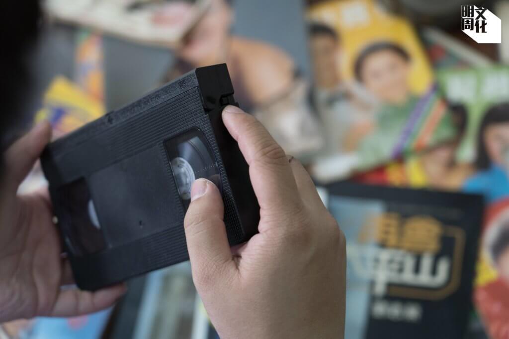 被遺棄的錄影帶裏,經常都有重大發現,例如一些七十年代的電視節目片段。