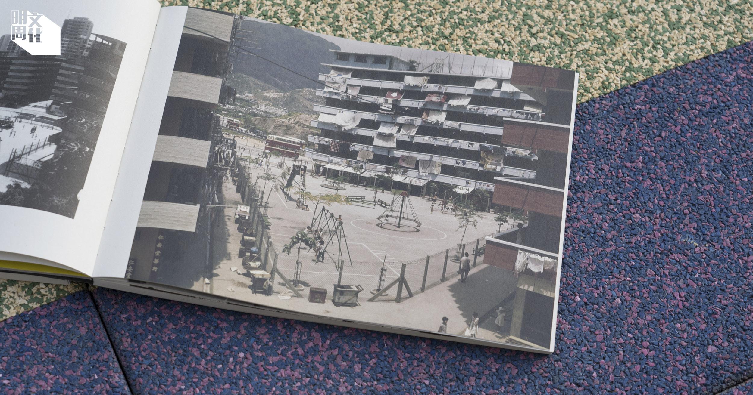 書中有大量豐富的遊樂場影像記錄