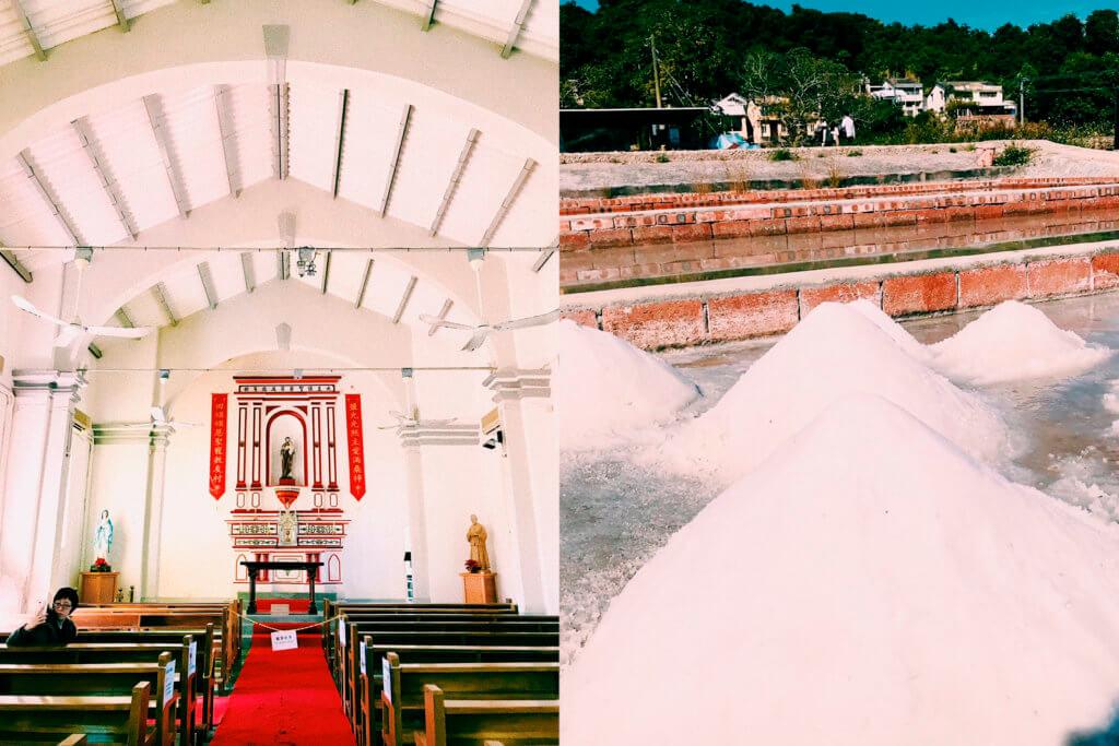 【尋常風景】來去西貢小島鹽田梓 看中西合璧百年教堂 聽日曬海鹽的故事