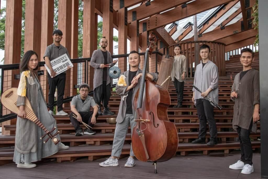 是次演出結合中樂與爵士樂,樂手與器樂各有特色。