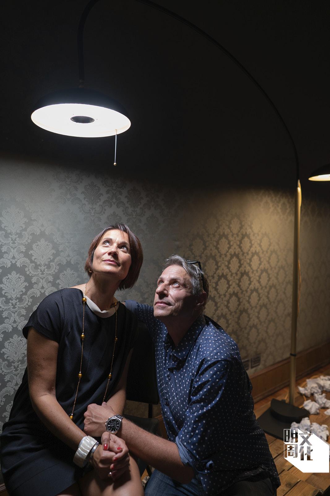 Codega的創辦人Diego Giordani(右)及Elena Baronchelli