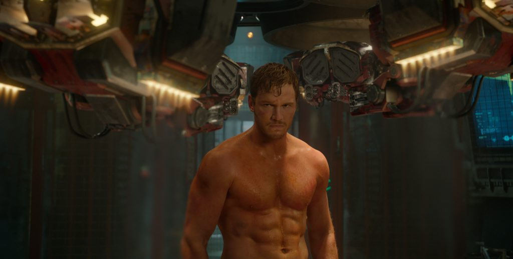 Marvel's Guardians Of The Galaxy..Peter Quill/Star-Lord (Chris Pratt)..Ph: Film Frame..©Marvel 2014
