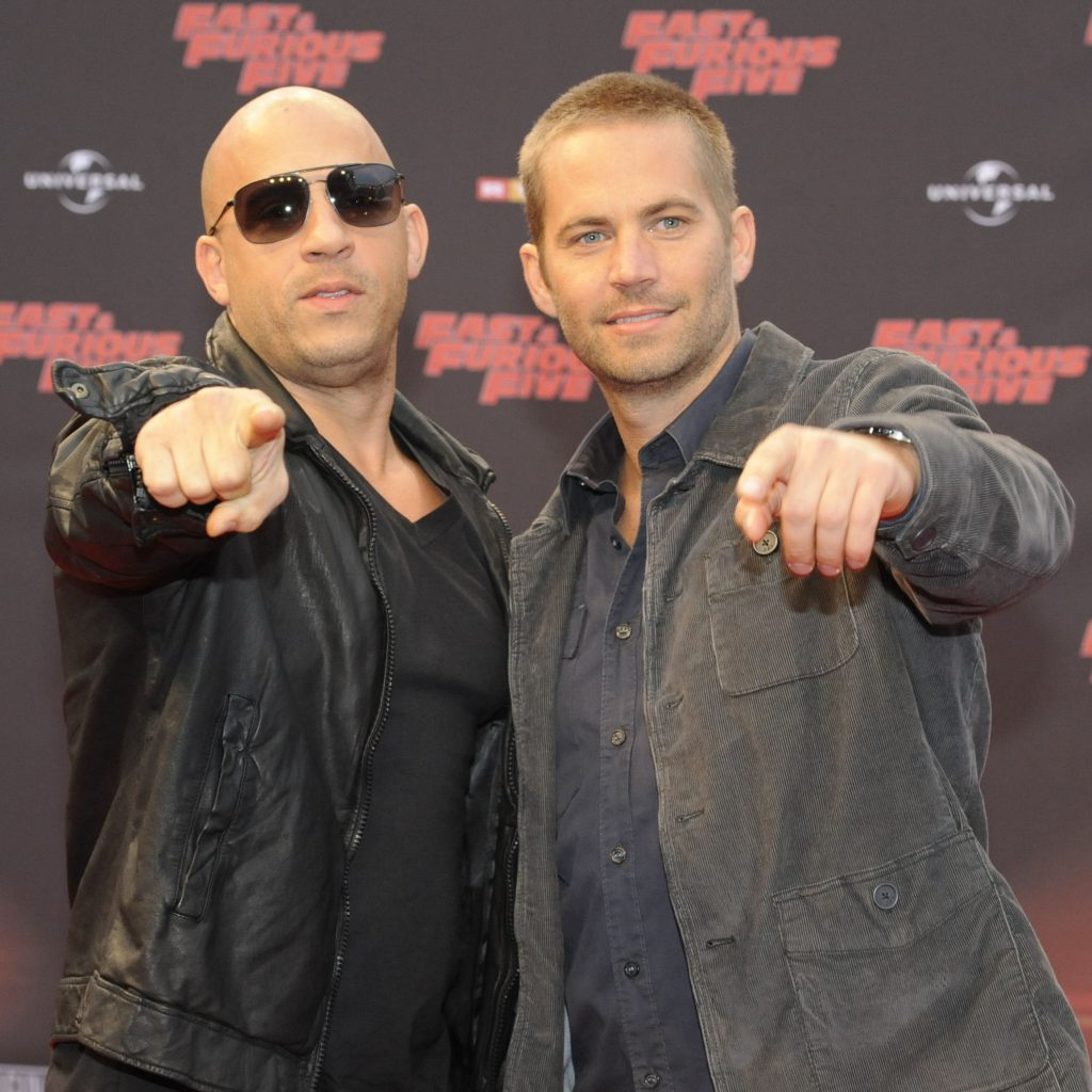 COLOGNE, GERMANY - APRIL 27:  Vin Diesel and Paul Walker (L-R) attend the 'Fast & Furious 5' Germany Premiere on April 27, 2011 in Cologne, Germany. (Photo by Peter Wafzig/Getty Images) *** Local Caption *** Vin Diesel;Paul Walker;