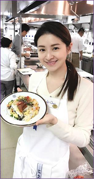 早前到日本學法國菜外,在當地也有上堂學做日本 ...