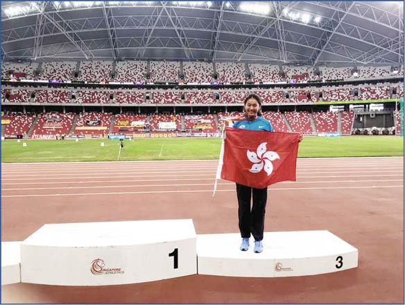 瑤瑤慶幸經常代表香港外出比賽,令人生豐富又精采。