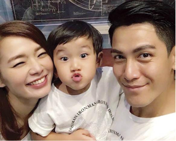 呂慧儀口中的三歲兒子Anton是韓國帥哥oppa,已搶去丈夫的地位。