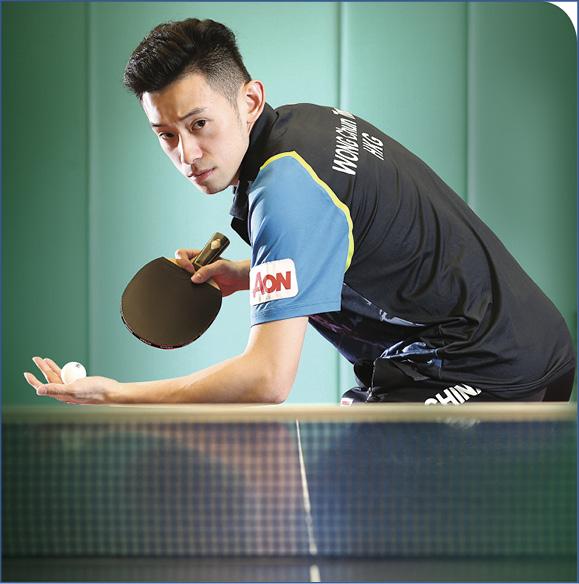 黃鎮廷認為乒乓球運動員必須勤練習