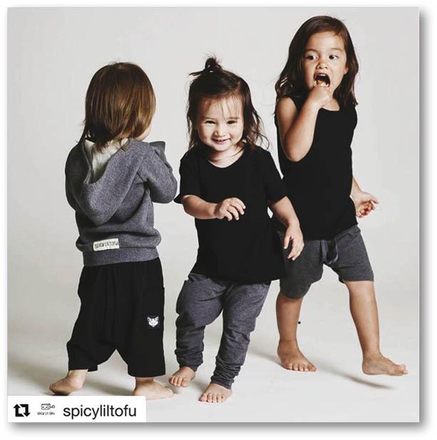 品牌的目標客羣是二至六歲小朋友,Maya年紀剛剛好擔任起小模特兒。
