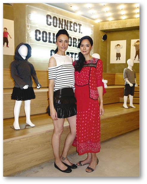 Lisa近年移居美國,早前專程回港和Ana出席品牌的開幕禮。