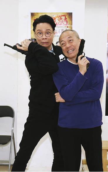 飾演「甘草演員」陳四茂的陳志雲,與演「臨記阿頭」白俊奇的倪秉郎在劇中有不少吵架戲分,火藥味十足。