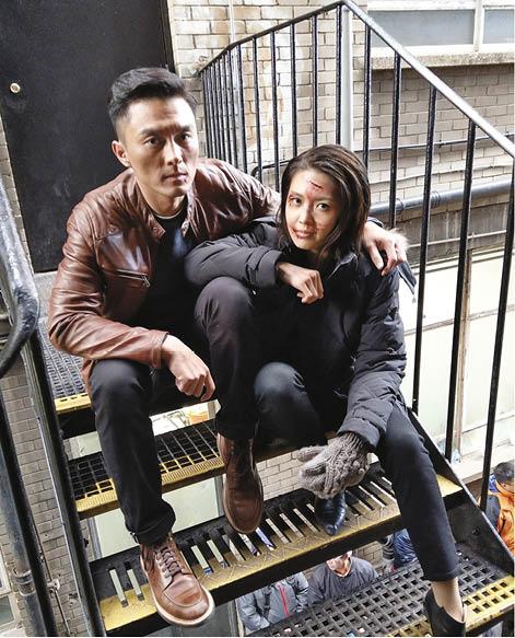 楊明與Toby臉上的傷痕雖然只是特技化妝,但由於打足一日,兩人真的周身瘀傷。