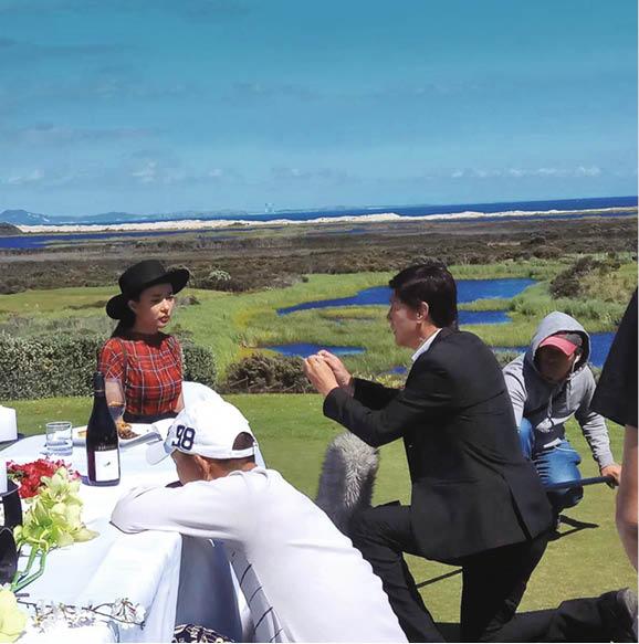 陳榮峻早前在新西蘭拍電影向女主角馮晴求婚,令他興起向吳香倫求婚的念頭。