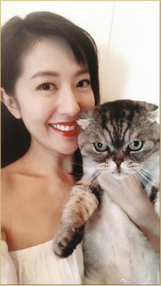 崔建邦送的貓咪,依然在唐家生活。