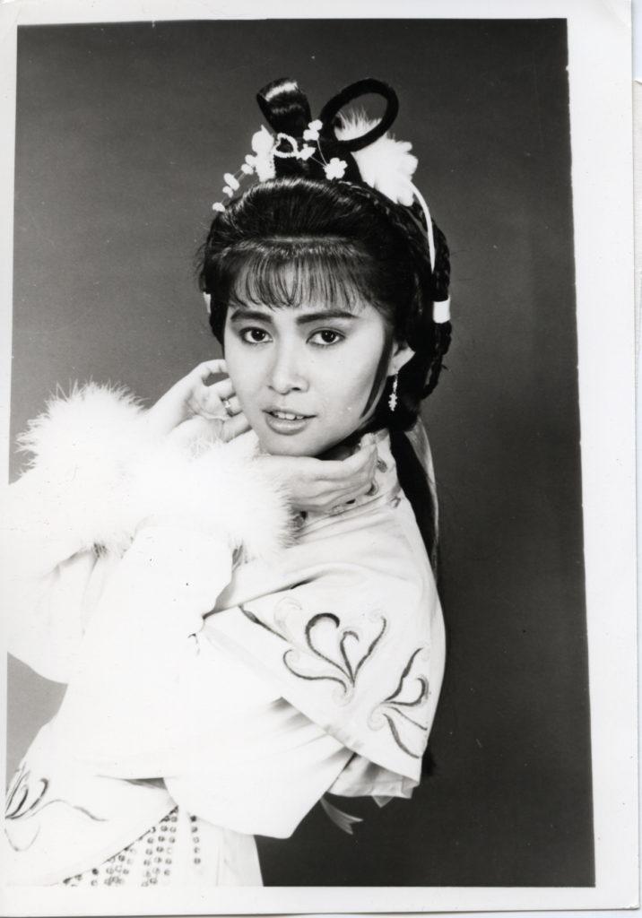 麥翠嫻當年是亞視花旦,古裝劇扮相俏麗。