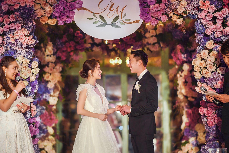 """这就是嫁给爱情的幸福模样,恭喜阿娇钟欣潼找到她的""""真骑士"""",最后变天后,变新娘,都是理想❤"""