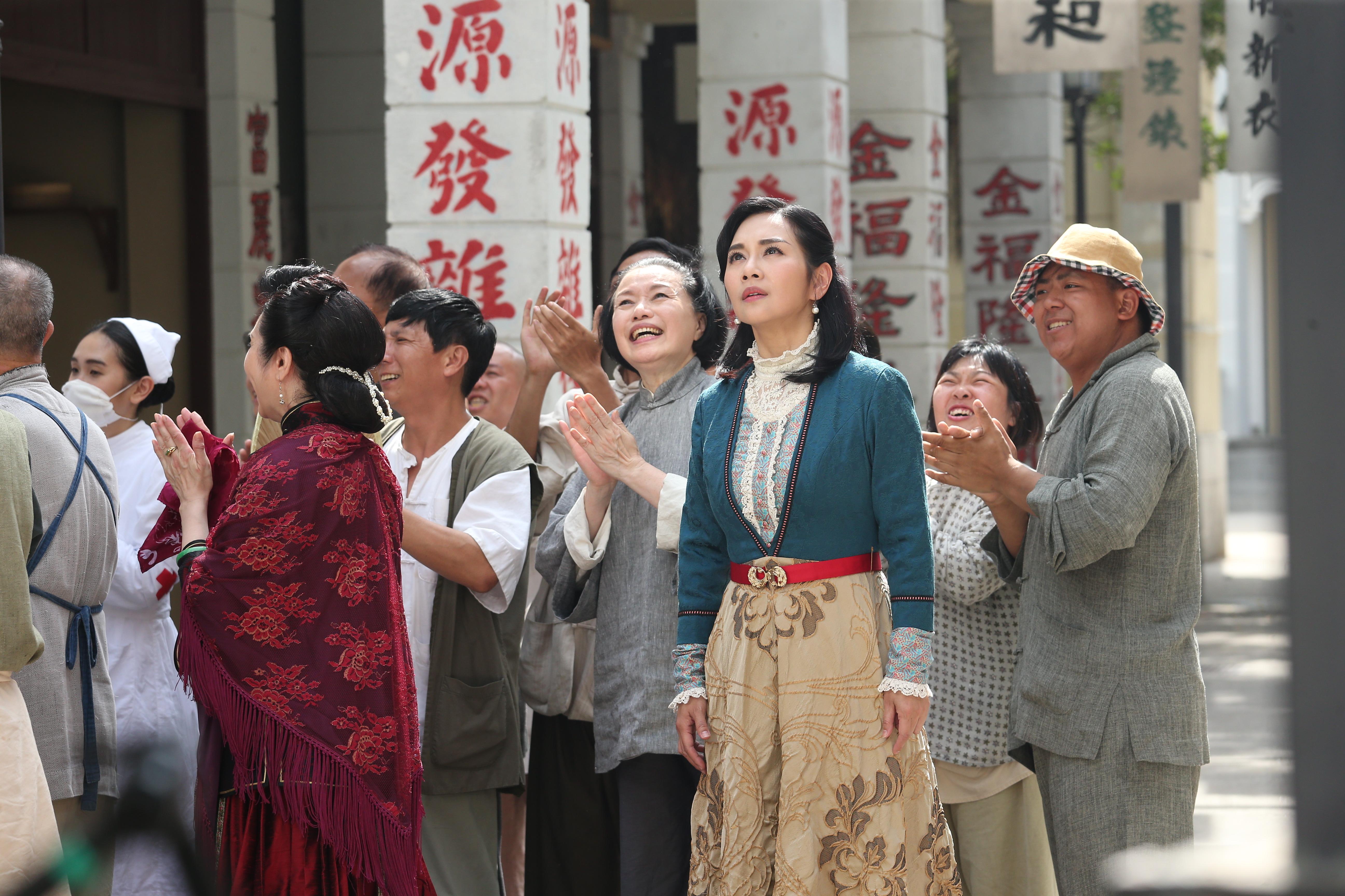 陳松伶表示劇集拍攝了三個月,已令她免疫能力受到影響。