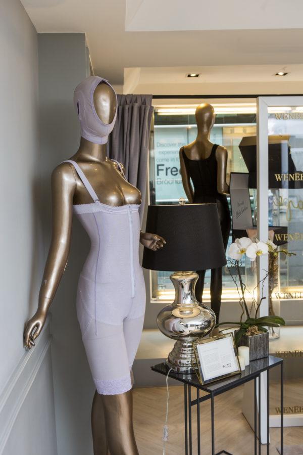 除了量身訂製體雕衣,薇妮體雕還有各款高腰褲,低腰褲,胸托配合不同場合着裝需要而設計,是日常穿搭最佳選擇。