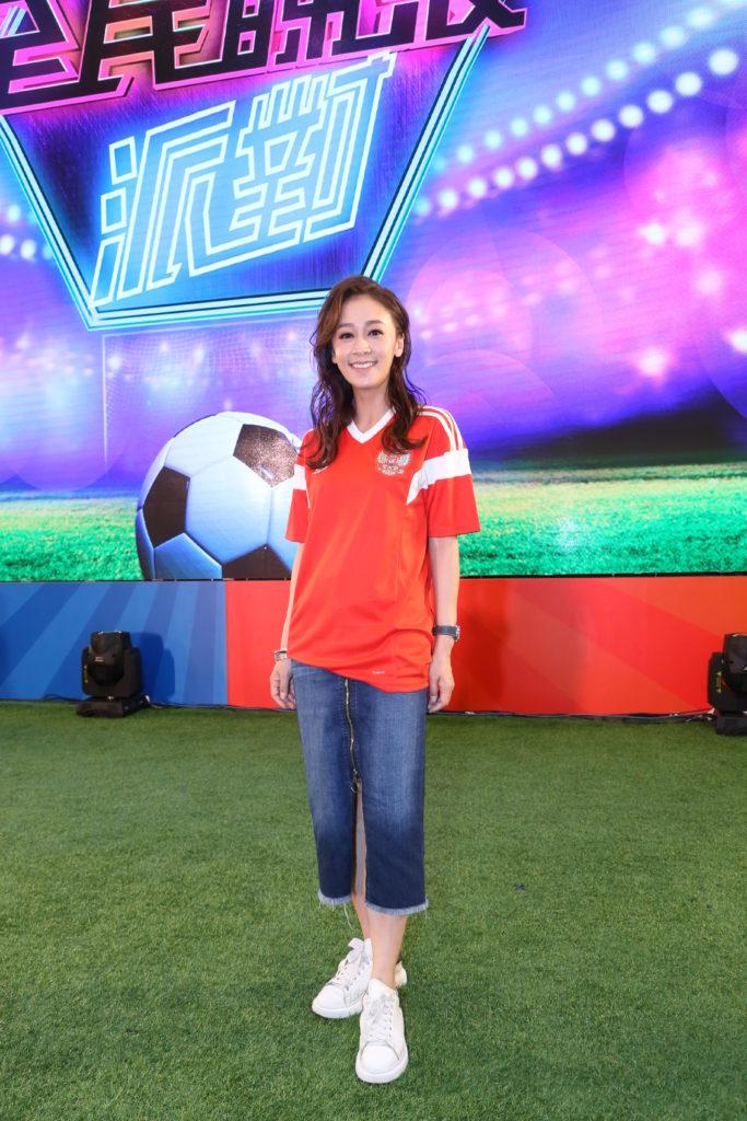 黃心美為了主持世界盃的pre show,每晚都要花時間背熟球星名字。