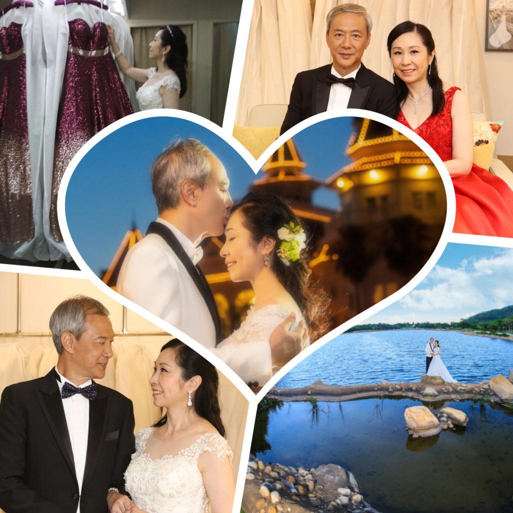 陳榮峻七月十號與吳香倫在教堂舉行婚禮