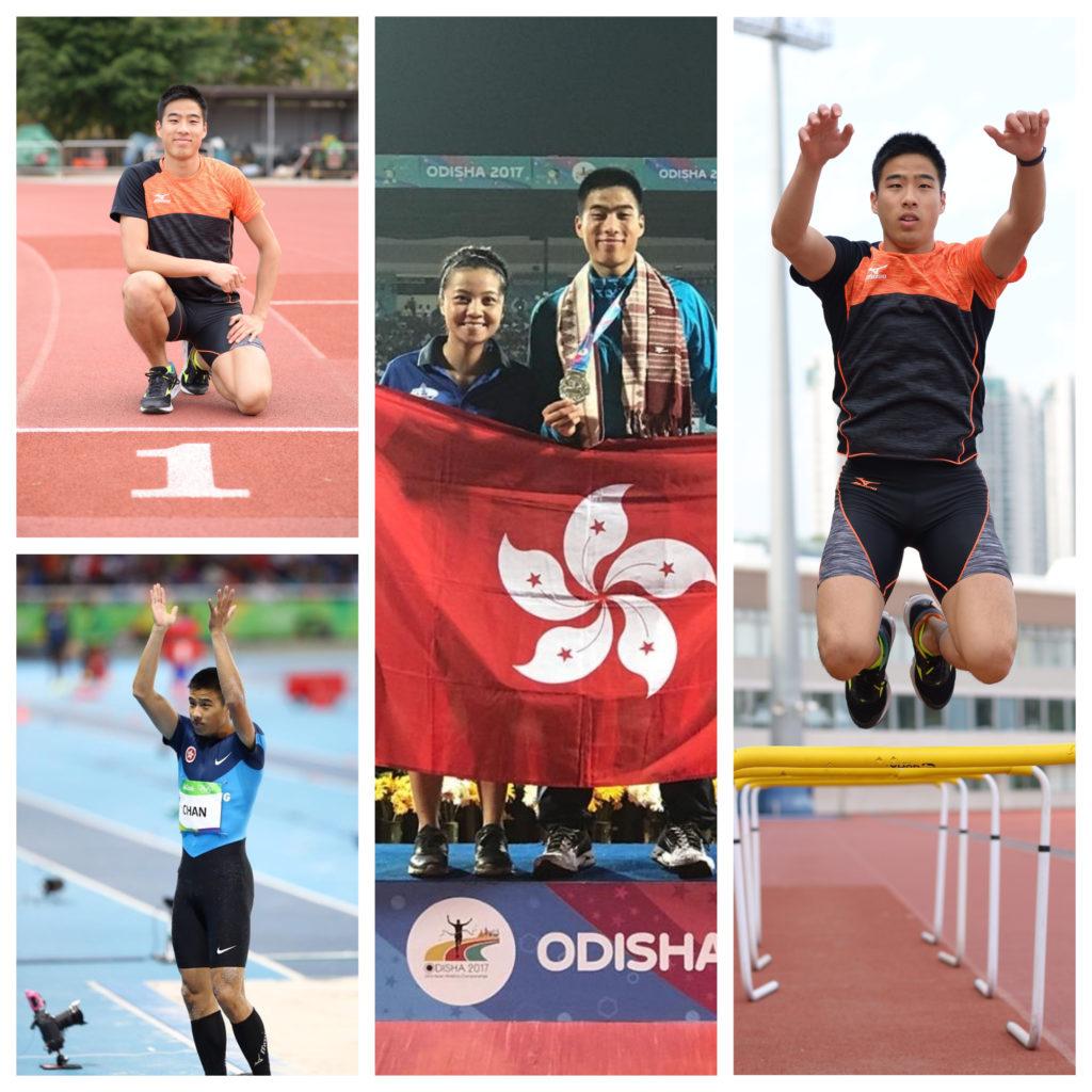 陳銘泰認為個人成績來自教練和團隊的支持