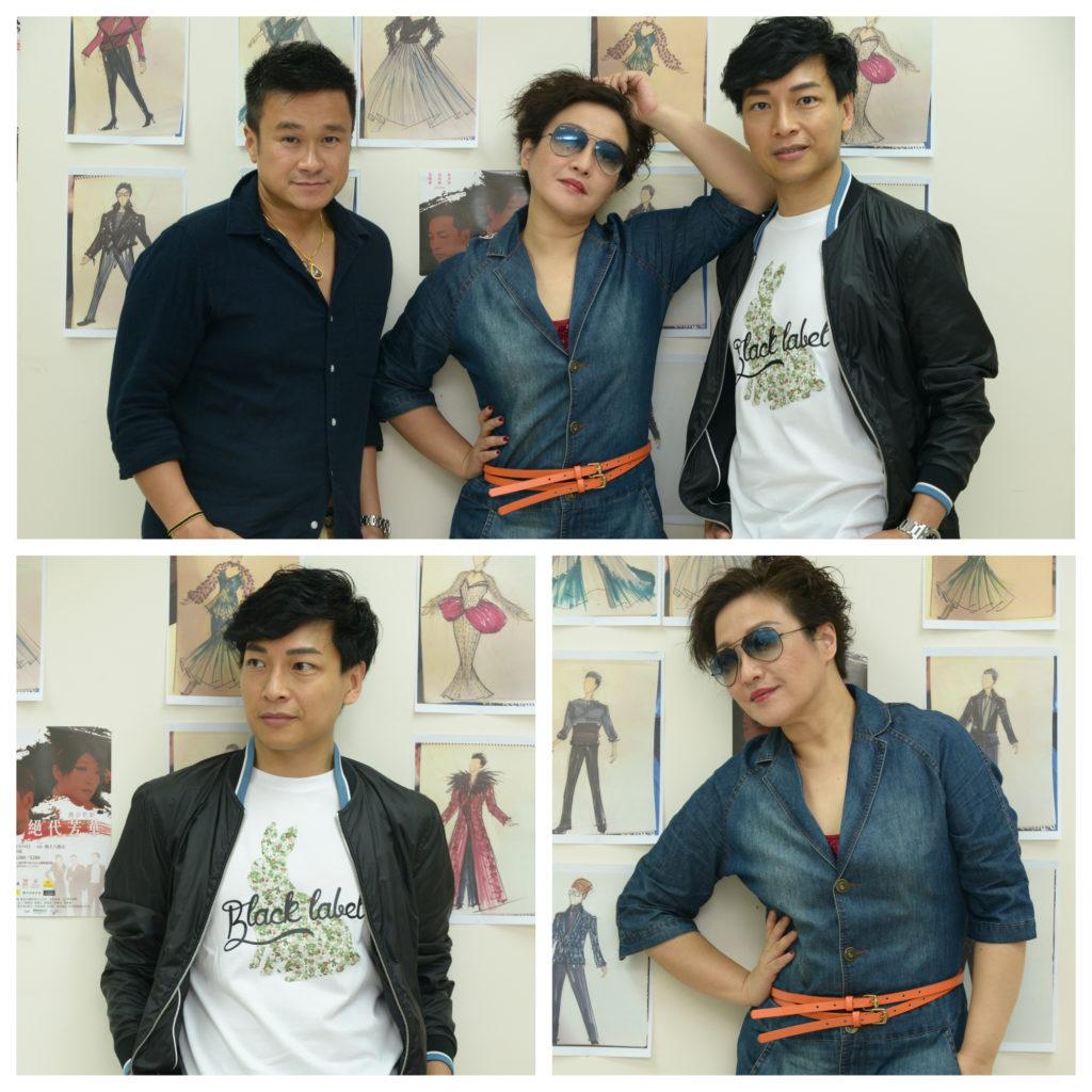 劉雅麗、譚偉權是演藝學院同學,林澤群是兩人的師弟