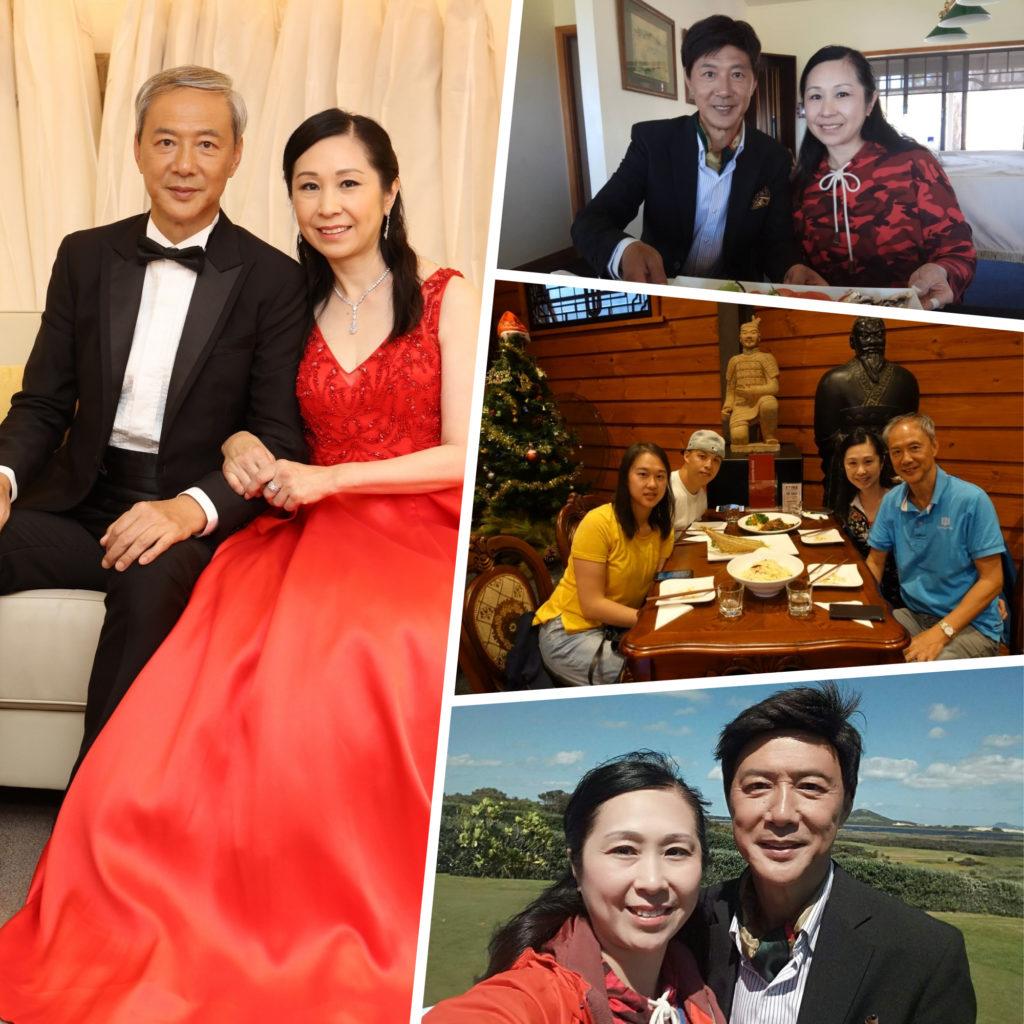 峻哥和香倫的婚事得到子女的支持和祝福。