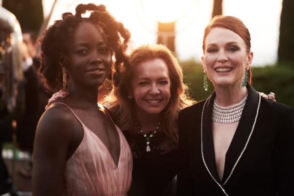 Julianne Moore和Lupita Nyong'o佩戴Caroline Scheufele設計的Red Carpet高級珠寶系列亮相康城電影節。