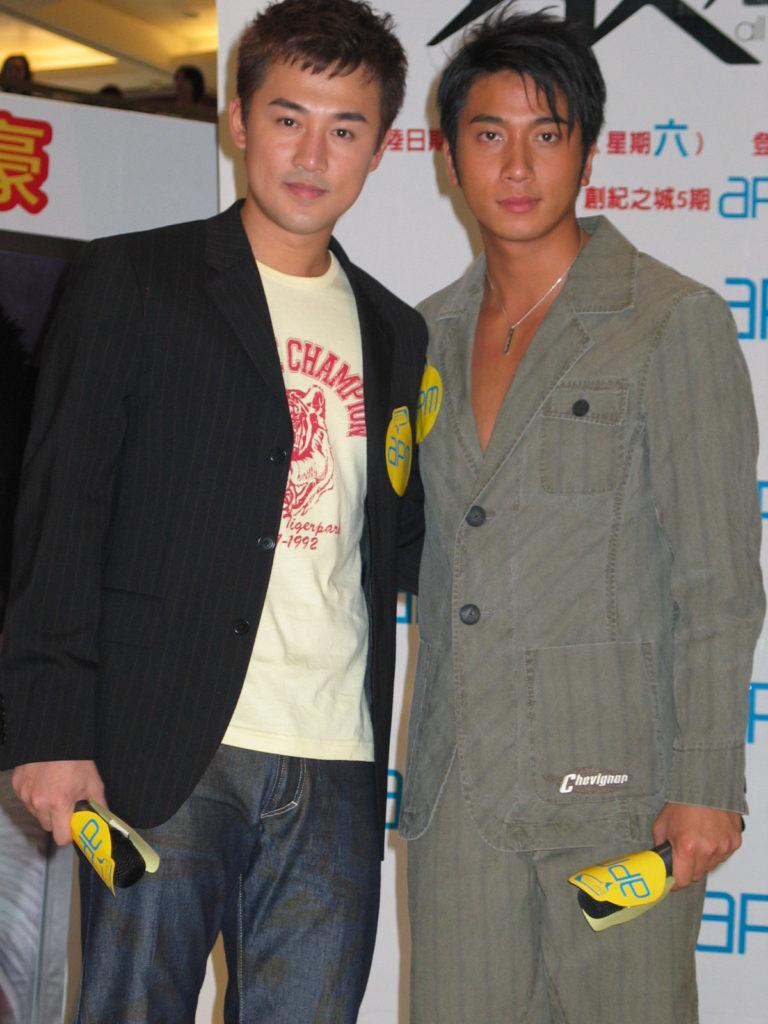 吳卓羲說TVB之中最熟的是林峯,最初是對方打電話約他吃飯。