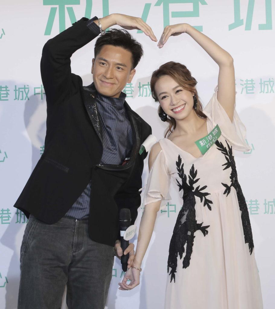 馬國明與黃心穎拍拖甜蜜,他說帶女朋友見過家長。